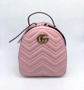 👛 Новый рюкзак Gucci , розовый