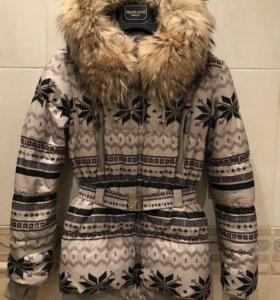 Зимний пуховик ( пальто)