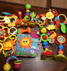 Продам игрушки пакетом, Tiny Love, Lamaze