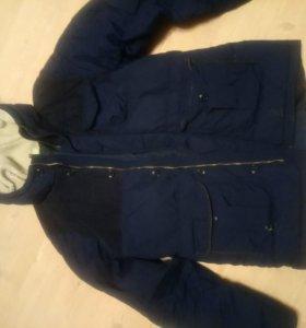Куртка адидас зимняя