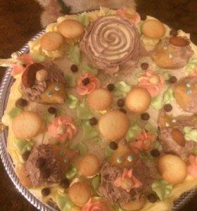 Детский торт .