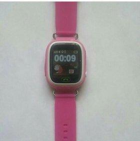 Продажа детских GPS часов Smart Baby сенсорные Q90