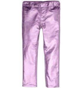 Штаны для девочки H&M новые