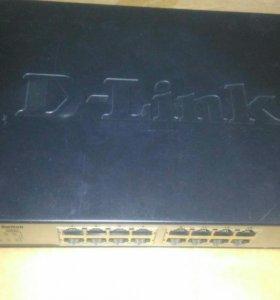 Switch (коммутатор) D-Link