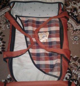 Переноска, сумка для мамы!