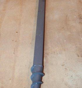 Столб заборный саморезный 50х50х2 длина 3,4 м