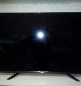 Телевизор разбитый