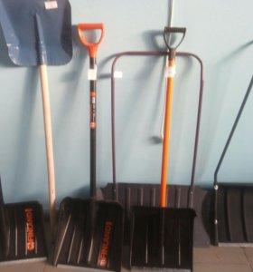 Лопаты и скребки