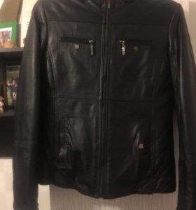 Куртка из натуральной кожи, на нат. меху