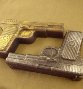 Мыло ручной работы Пистолет