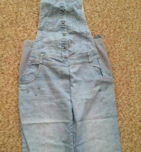 Комбинезон джинсовый для беременных SwetMama