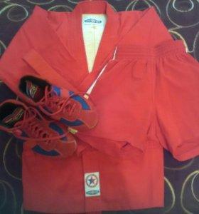 Одежда и обувь для самбо