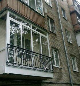 Ремонт балконов и лоджий. Окна