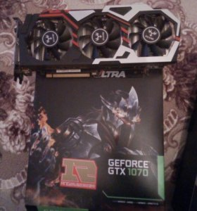 GeForce GTX 1070 8гигов