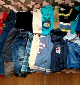 Вещи пакетом на мальчика (1-2года)