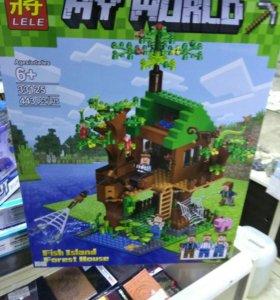 Лего Minecraft
