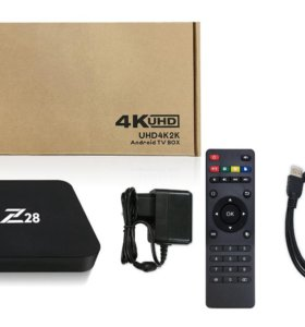 Z28 смарт ТВ приставка 4К на Андроиде 7.1.2(Новая)
