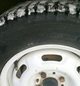Шипованые колеса Кама 503