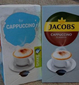 Капсулы Tassimo Jacobs Cappuccino