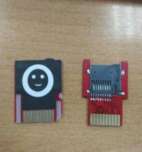 SD2vita адаптер под microSD для ps vita (3.60)