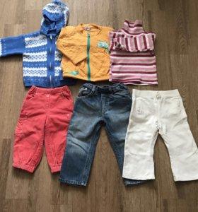 Комплект одежды для девочки, рост 80-86