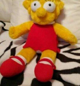 Simpsons. Симпсоны, Лиза. Мягкая игрушка, 64 см