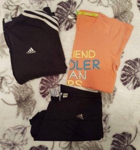 Толстовка, Шорты, футболка. Adidas оригинал