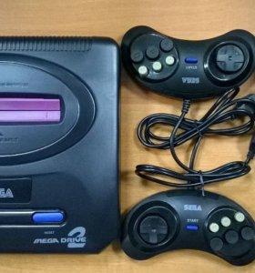 Новая Sega Mega Drive 2 Вызов из прошлого+368 игр.
