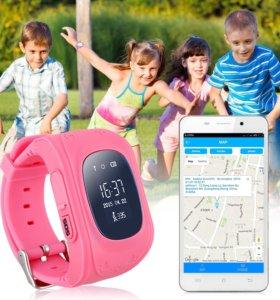 Детские часы со встроенным телефоном и GPS+подарок