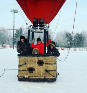 Необычный подарок- полет на воздушном шаре