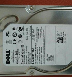 Серверный жесткий диск dell st3500414ss