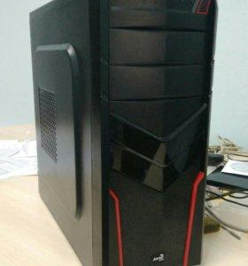 Мощный системный блок с монитором Samsung 22 дюйма