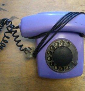 Телефон стационарный дисковый Спектр-3