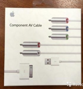 Кабель Apple Component AV Cable (MC917ZMA) оригин.