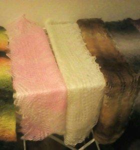 Продам шарф палантин ангорский