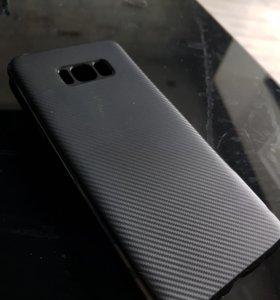Бампер-чехол на Samsung S8+