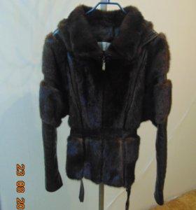 Куртка из норки женская