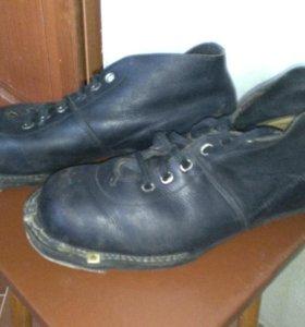 Ботинки лыжные 43р