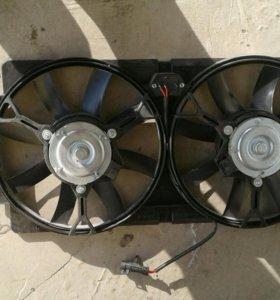 Вентилятор радиатора нивашевроле