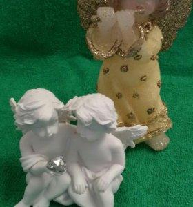 Ангелочки (статуэтка + свеча) 🎇