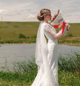 Свадебное платье👰🏼(торг)