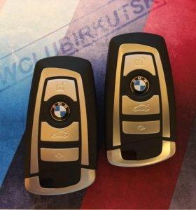 Ключ зажигания новый BMW 1, 3, 5, 6, 7, X3, X4