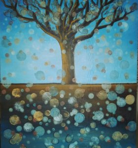 "Картина ""Дерево сказок"""