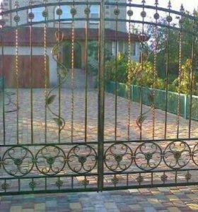 Ворота открытые