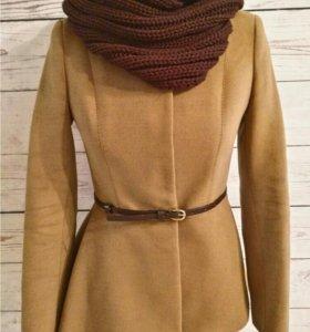 Асимметричное пальто