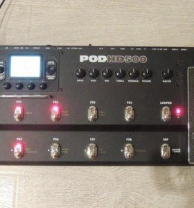 Line 6POD HD 500