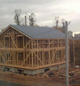 Строительство и проектирование каркасных домов