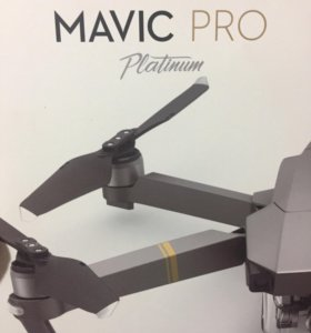 Новый DJI Mavic Pro Platinum