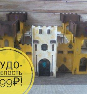Конструктор Чудо - крепость из дерева