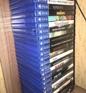 Игровые диски для PlayStation 4